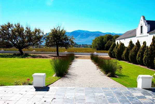 Franschhoek - �FRICA DO SUL