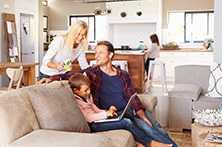 Acomodação - 3 semanas - Casa de Familia - Meia Pensão