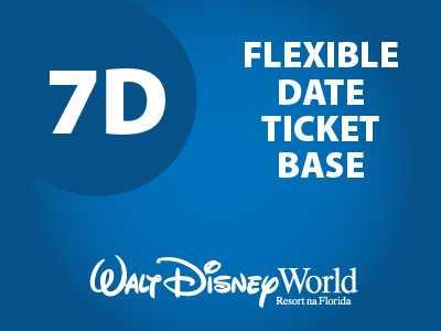 Ingresso Disney Básico Flexível - 7 Dias