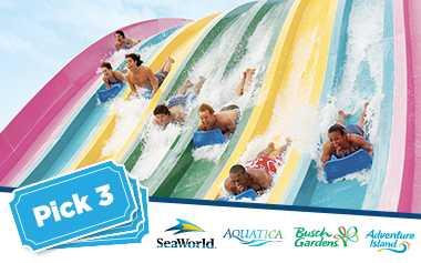Ingresso SeaWorld 3 Dias - 3 Park Ticket