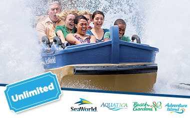 Ingresso SeaWorld Visitas Ilimitadas com Estacionamento Grátis - Unilimited Visits