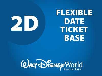 Ingresso Disney Park Hopper Flexível - 2 Dias