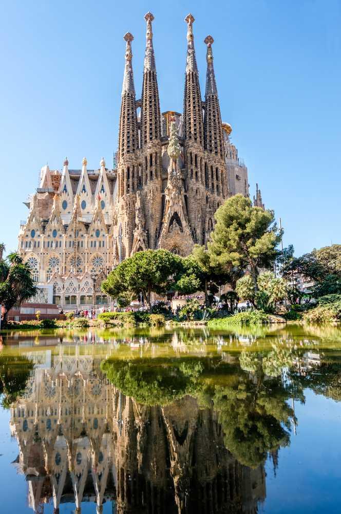 Barcelona - Barcelona de Gaudí com Sagrada Família | Tour Regular de Meio Dia (Tarde)